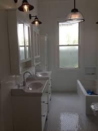 Black And White Bathroom Ideas by Ikea Hemnes Subwaytile White Subway Tiles Hexagonalfloortile