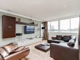 Led Tv Furniture Sensational Modern Led Tv Wall Living Room Top White Decor Airy