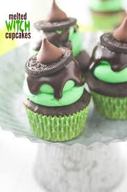 melted witch cupcakes recipe witches recipes and halloween foods