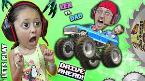 monster trucks head duddy lex lets play drive