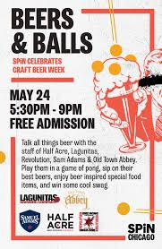 Chicago Brewery Map by Beers And Balls Craft Beer Week Celebration Spinchicago
