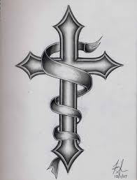 images cool back cross tattoos for ue catholic designs