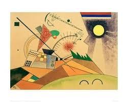 sketch for moving silence 1923 wassily kandinsky kandinsky and