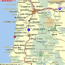 map of oregon welcome to florence oregon area maps