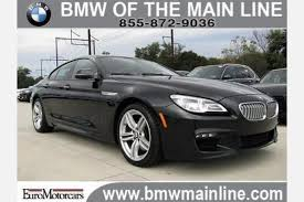 used bmw 650i coupe used bmw 6 series gran coupe for sale in philadelphia pa edmunds