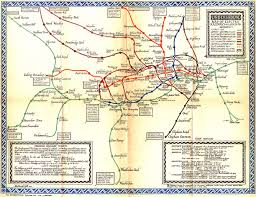 Mexico City Neighborhood Map by Edward Tufte Forum London Underground Maps Worldwide Subway Maps