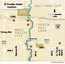 Salt Lake Zip Codes Map by New Shelter To Be In West Valley Or South Salt Lake U2014 Cities