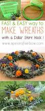 Make A Laundry Hamper by Make Wreath Fast U0026 Easy A Dollar Store Hack Dollar Store Hacks