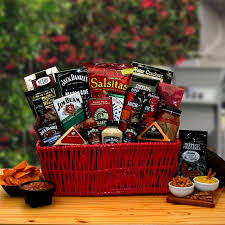 non food gift baskets jim grillin bbq gift basket hayneedle