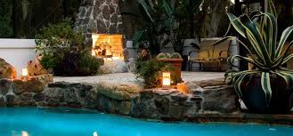Beautiful Backyard Ideas Ideas U0026 Tips Outdoor Isokern Fireplace Plus Chairs For Beautiful