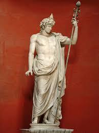 dionysus greek god statue colossal statue of antinous as dionysos osiris rome vatican