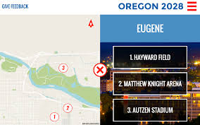 Autzen Stadium Map Website Proposing Oregon Bid For 2028 Summer Olympics Suggests