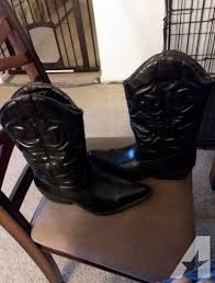 womens brown cowboy boots size 11 sm york s lasso black cowboy boots size 11 for sale in