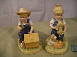 home interior denim days figurines homco home interiors denim days figurines puppy 1503