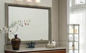 Frame Bathroom Mirror Kit Bathroom Mirror Frame Kit Bathroom Cintascorner Mirror Frame Kit