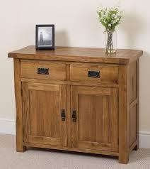 cotswold rustic solid oak small sideboard oak furniture king