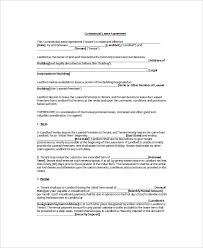 8 rental lease templates free sample example format free