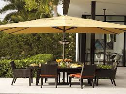 Large Patio Umbrellas Large Cover Patio Umbrellas Yellow For Backyard Space Ideas With