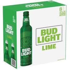 bud light bottle oz bud light lime beer 8 pack 16 fl oz bottles 9 99 grocery