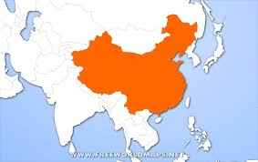 china on a map where is china on the map my