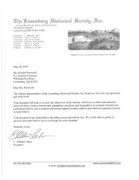 charity commitment letter sarah fitzgerald pj keating historialsociety52816