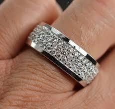 mens eternity rings 7 800 retail 3 01 carats t w diamond mens eternity ring custom