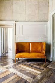 multi tone parquet floor with statement homedesignboard