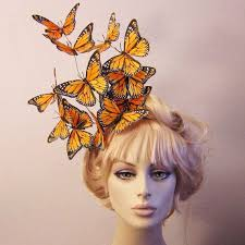 butterfly hair effie butterfly fascinator hat hair hunger inspired