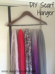 make curtain rings images How to make a scarf hanger using shower curtain rings and a hanger jpg