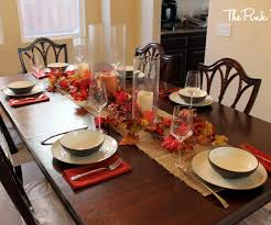 dining room table setting ideas supple room fall room table decorating ideas img fall room table