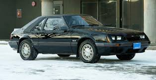 Black Mustang Grey Stripes 1985 Mustang Gt