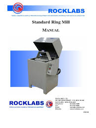 ring mill manual rock labs pdf steel