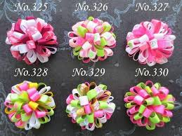 loopy bow customize 50 blessing girl c loopy puffs ribbon 2 5