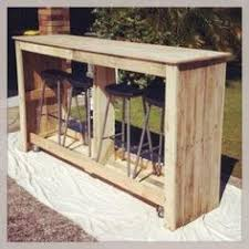 Wood Pallet Recycling Ideas Wood Pallet Ideas by Mobile Outdoor Bar From Recycled Pallets Diy Pallet Projects