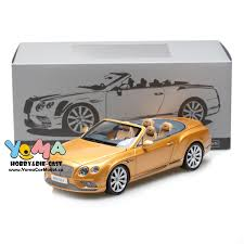 gold bentley convertible paragon 1 18 2016 bentley continental gt convertible lhd gold pa