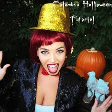 columbia rocky horror halloween tutorial youtube