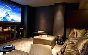 Theatre Room Decor Theater Bedroom Brown Wall Paint Color Theatre Room Decor Ideas