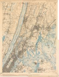 New Jersey New York Map by Old Usgs Topographical Maps Of Long Island New York