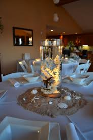 Centerpieces For Baby Shower by Centerpieces For Beach Themed Baby Shower With Real Fish And