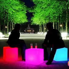 Led Light Bar For Home by Aliexpress Com Buy 30 30 30cm Plastic Led Cube Bar Stool Color