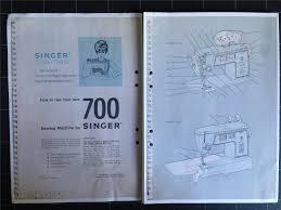 singer 700 720 manual till symaskin på tradera com symaskiner