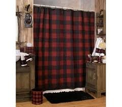 Black And Red Kitchen Curtains by Buffalo Check Valances Details About Woolrich Buffalo Check