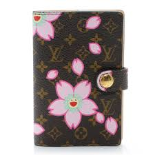 mini carnet de note louis vuitton cherry blossom carnet de bal mini address book brown