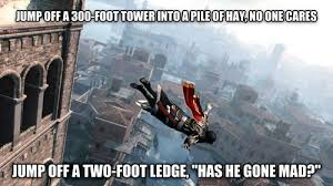 Assassins Creed Memes - 40 of the most ridiculous exles of video game logic memebase