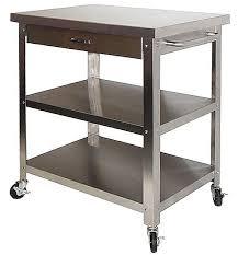 stainless steel kitchen island cart best 25 stainless steel kitchen cart ideas on