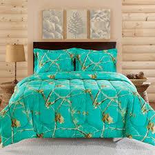 Orange Camo Bed Set Teal Blue Comforter Sets Great Home Interior And Furniture