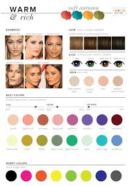 best u0026 worst colors for autumn seasonal color analysis