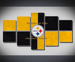 interesting decoration steelers wall art awesome and beautiful