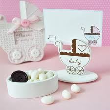 Favor Boxes by Carriage Place Card Favor Boxes With Designer Place Cards Set Of 12
