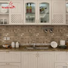countertop kitchen sticker 10m pvc mosaic wall bathroom waterproof